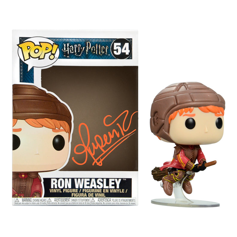 Rupert Grint Autographed Harry Potter Ron Weasley POP Vinyl Figure #54