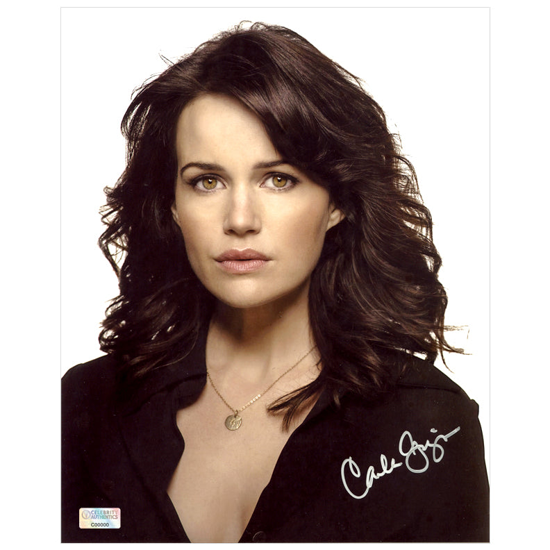 Carla Gugino Autographed 8×10 Portrait Photo