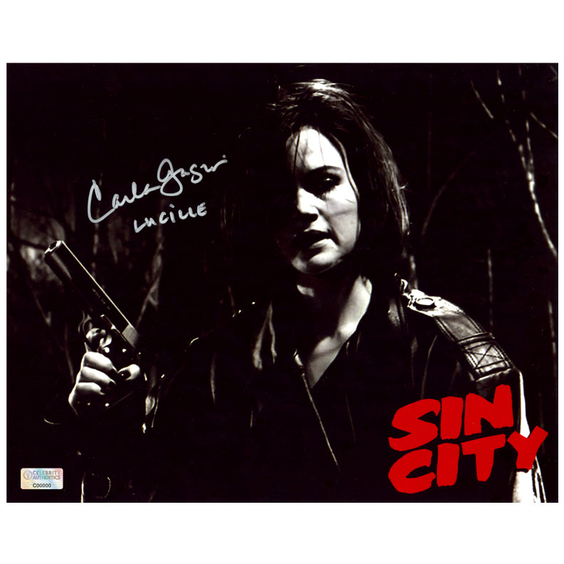 Carla Gugino Autographed Sin City Lucille 8×10 Photo