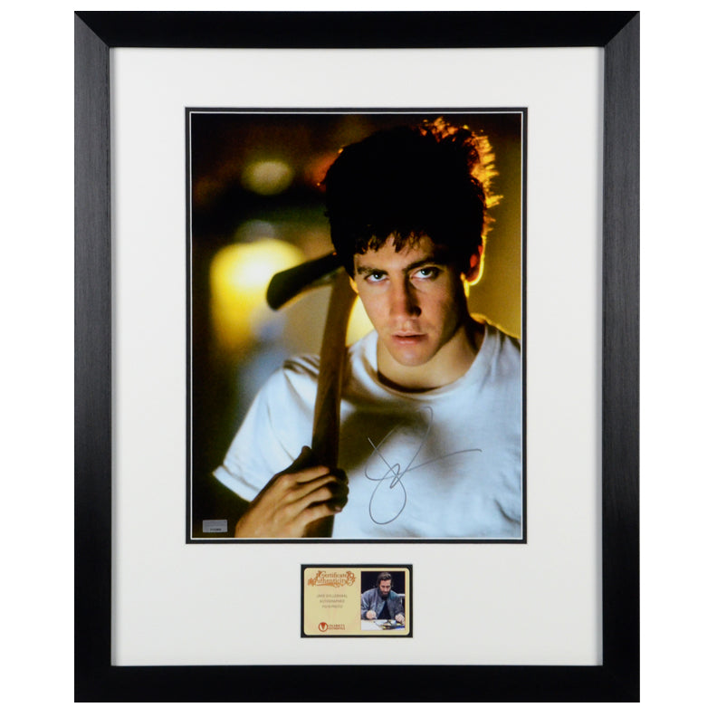 Jake Gyllenhaal Autographed Donnie Darko 11x14 Framed Photo