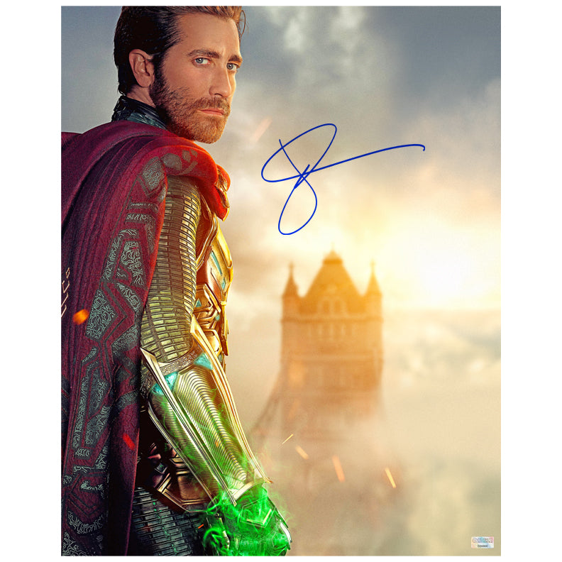 Jake Gyllenhaal Autographed Spider-Man: Far From Home Mysterio 16×20 Photo