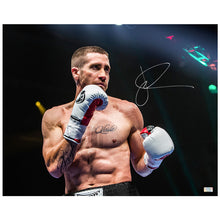 Load image into Gallery viewer, Jake Gyllenhaal Autographed Southpaw Billy Hope 16x20 Scene Photo