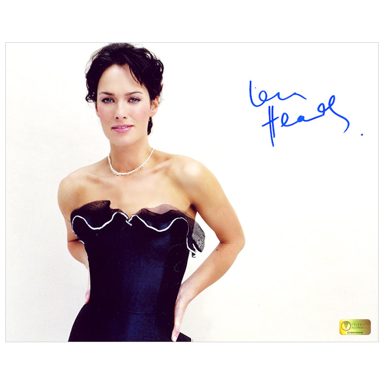 Lena Headey Autographed Glamour 8x10 Photo