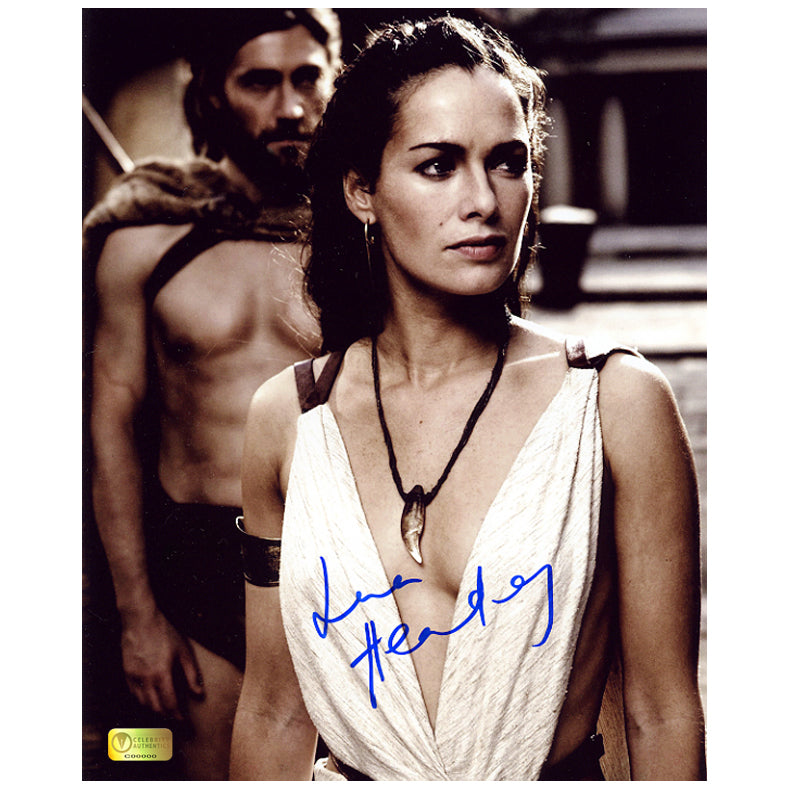 Lena Headey Autographed 300 Queen Gorgo 8x10 Photo