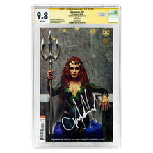 Load image into Gallery viewer, Amber Heard Autographed Aquaman #39 CGC SS 9.8