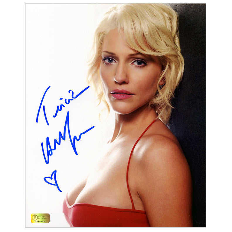 Tricia Helfer Autographed Battlestar Galactica Cylon Number Six 8×10 Close Up Photo