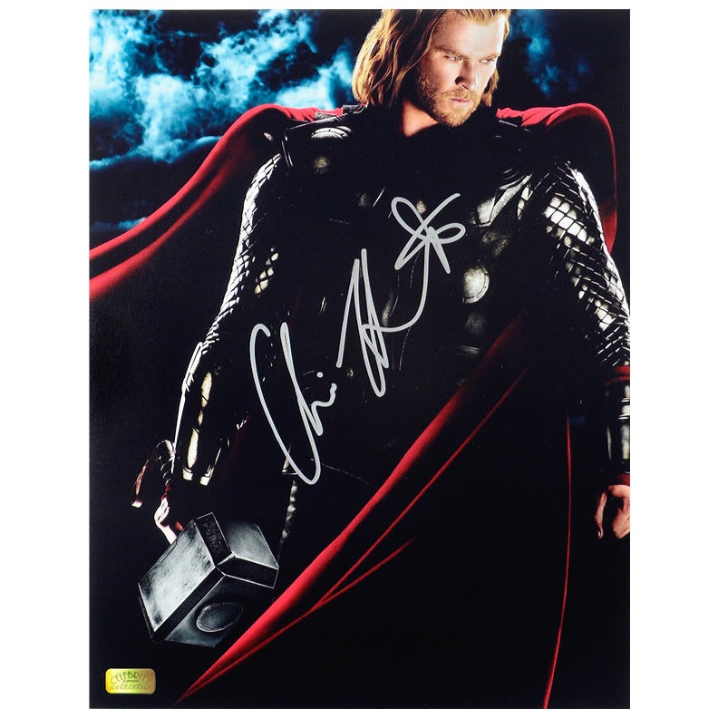 Chris Hemsworth Autographed Thor Son of Asgard 11x14 Photo