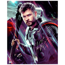 Load image into Gallery viewer, Chris Hemsworth Autographed Avengers End Game Thor 16x20 Photo