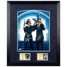 Load image into Gallery viewer, Tessa Thompson, Chris Hemsworth Autographed Men in Black: International Agent H and M 11x14 Framed Photo