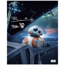 Load image into Gallery viewer, Brian Herring Autographed Star Wars: The Last Jedi BB-8 8x10 Photo