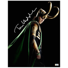 Load image into Gallery viewer, Tom Hiddleston Autographed Loki The Avengers 11x14 Photo