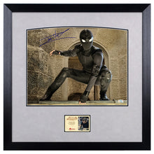 Load image into Gallery viewer, Tom Holland Autographed Spider-Man Stealth Suit 11x14 Framed Photo