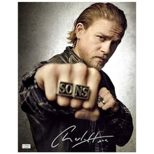 Load image into Gallery viewer, Charlie Hunnam Autographed Sons of Anarchy Jax Rings 11x14 Photo