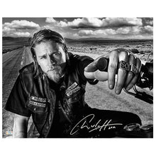 Load image into Gallery viewer, Charlie Hunnam Autographed Sons of Anarchy Open Road 16x20 Photo