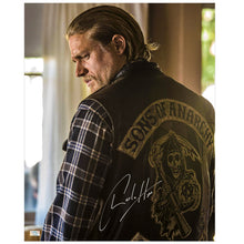 Load image into Gallery viewer, Charlie Hunnam Autographed Sons of Anarchy Jax Reaper 16x20 Photo