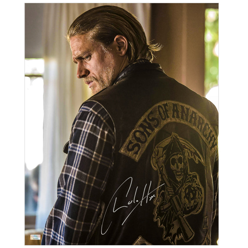 Charlie Hunnam Autographed Sons of Anarchy Jax Reaper 16x20 Photo