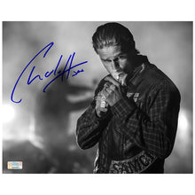 Load image into Gallery viewer, Charlie Hunnam Autographed Sons of Anarchy Night Run 8x10 Photo