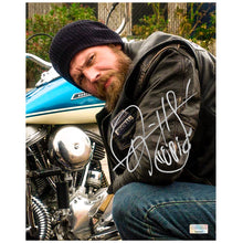Load image into Gallery viewer, Ryan Hurst Autographed Sons of Anarchy Opie 8×10 Scene Photo
