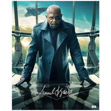 Load image into Gallery viewer, Samuel L. Jackson Autographed Captain America Winter Soldier Nick Fury 16x20 Photo