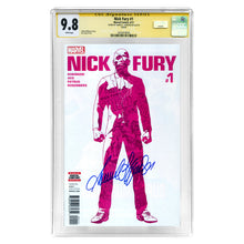 Load image into Gallery viewer, Samuel L. Jackson Autographed 2017 Nick Fury #1 CGC SS 9.8