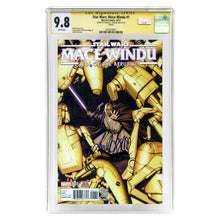 Load image into Gallery viewer, Samuel L. Jackson Autographed 2017 Star Wars Mace Windu #1 CGC SS 9.8