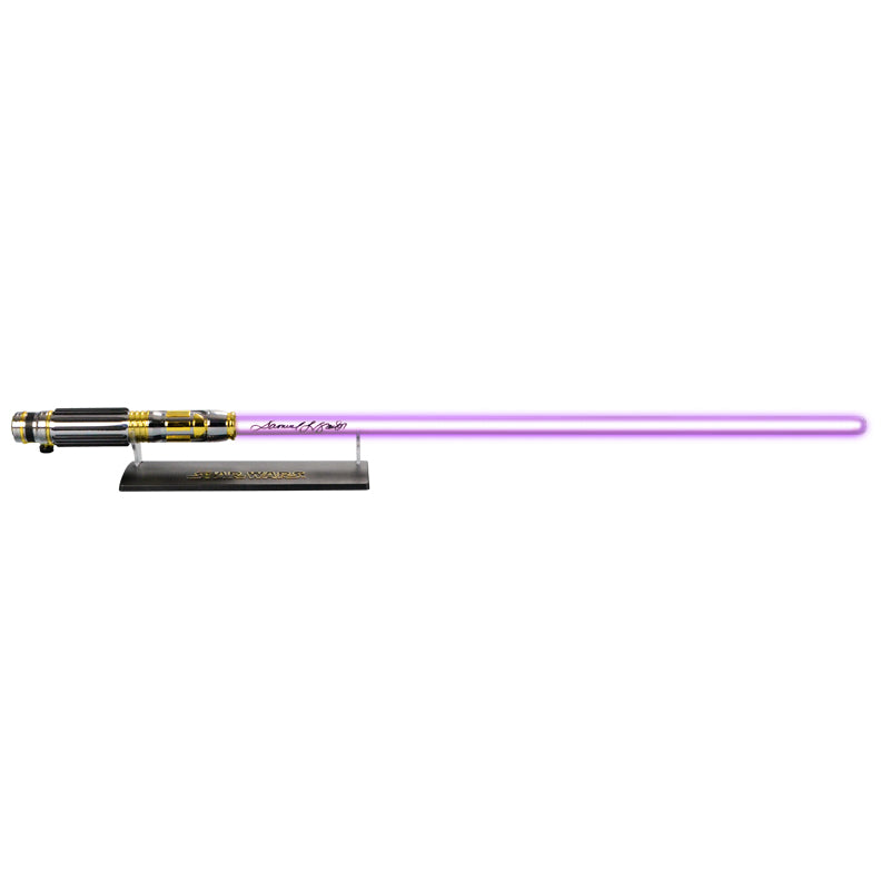 Samuel L. Jackson Autographed Star Wars: Revenge of the Sith Mace Windu Force FX Lightsaber