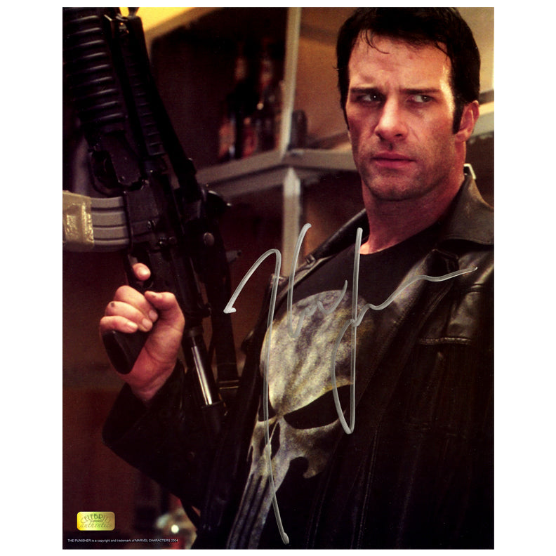 Thomas Jane Autographed The Punisher Frank Castle 8×10 Scene Photo