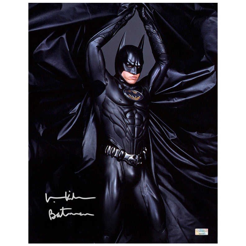 Val Kilmer Autographed Batman Forever 11x14 Studio Photo
