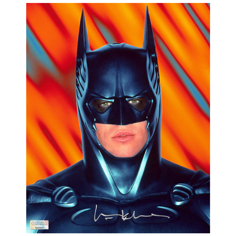 Val Kilmer Autographed Batman Forever 8×10 Portrait Photo