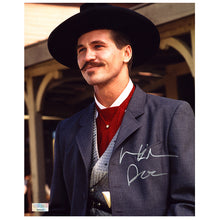 Load image into Gallery viewer, Val Kilmer Autographed Tombstone Doc Holliday OK Corral 8×10 Photo