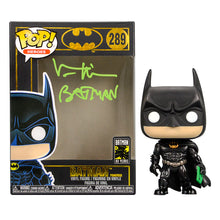 Load image into Gallery viewer, Val Kilmer Autographed Batman Forever 80th Anniversary POP Vinyl #289