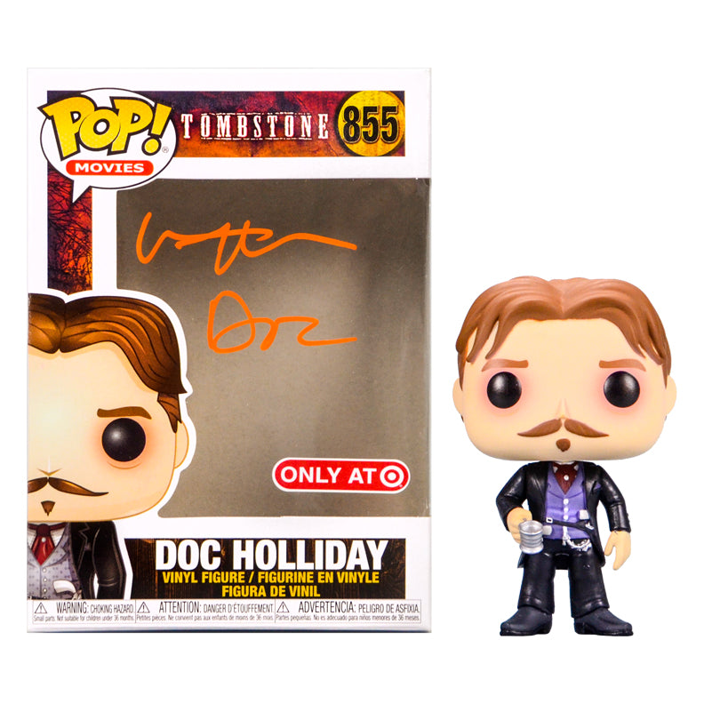 Val Kilmer Autographed Tombstone Doc Holliday POP Vinyl #855
