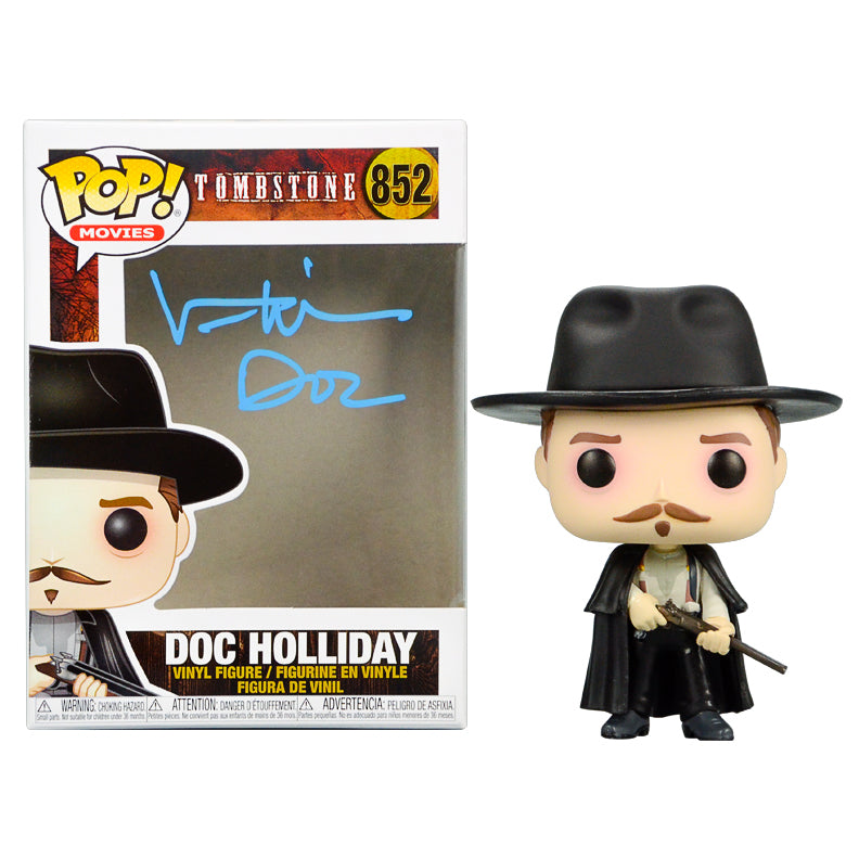 Val Kilmer Autographed Tombstone Doc Holliday POP Vinyl #852