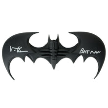 Load image into Gallery viewer, Val Kilmer Autographed Batman Forever Batarang with Batman Inscription