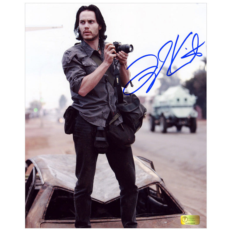 Taylor Kitsch Autographed The Bang Bang Club 8x10 Photo