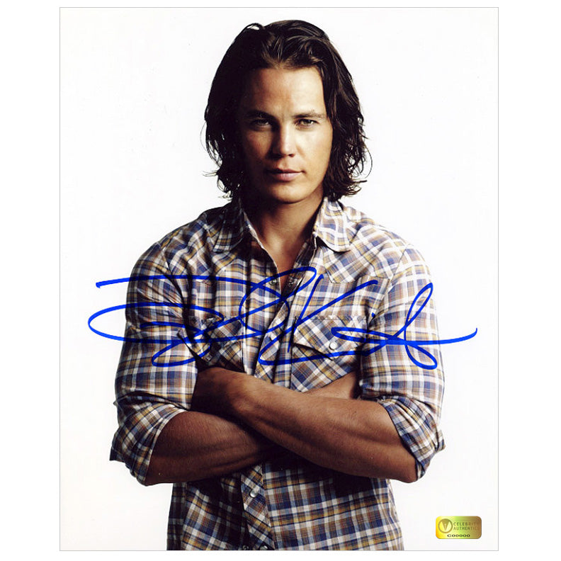 Taylor Kitsch Autographed Friday Night Lights Season 4 8x10 Studio Photo