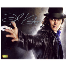 Load image into Gallery viewer, Taylor Kitsch Autographed X-Men Wolverine Gambit Card 8x10 Photo
