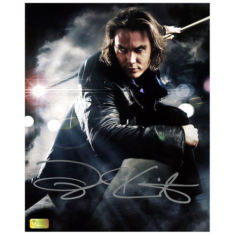 Taylor Kitsch Autographed X-Men Wolverine Gambit Strike 8x10 Photo