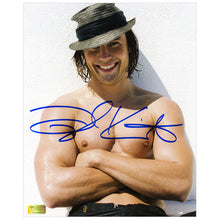 Load image into Gallery viewer, Taylor Kitsch Autographed Men's Health Hat 8x10 Photo
