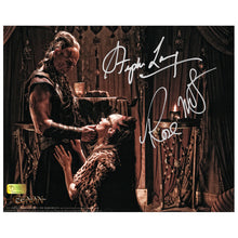 Load image into Gallery viewer, Rose McGowan and Stephen Lang Autographed Conan the Barbarian Marique and Zym Promise 8×10 Photo
