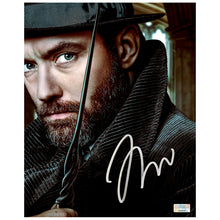 Load image into Gallery viewer, Jude Law Autographed Fantastic Beasts and Where to Find Them Albus Dumbledore 8×10 Portrait Photo