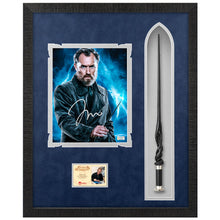 Load image into Gallery viewer, Jude Law Autographed Fantastic Beasts and Where to Find Them Albus Dumbledore 8×10 Photo With Wand Framed Display