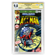 Load image into Gallery viewer, Stan Lee, Paul Rudd Autographed Marvel Premiere Astonishing Ant-Man #47 CGC SS 9.8