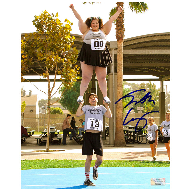 Justin Long Autographed Dodgeball: A True Underdog Story 8x10 Scene Photo