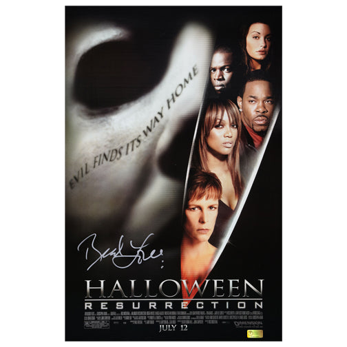 Brad Loree Autographed Halloween Resurrection 11x17 Poster