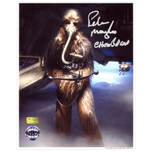 Load image into Gallery viewer, Peter Mayhew Autographed Star Wars Chewbacca Mynock Hunt 8×10 Photo