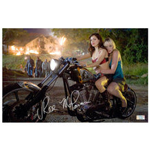 Load image into Gallery viewer, Rose McGowan Autographed Grindhouse Planet Terror Zombie Escape 11×17 Photo