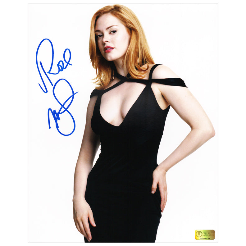 Rose McGowan Autographed Charmed 8x10 Photo