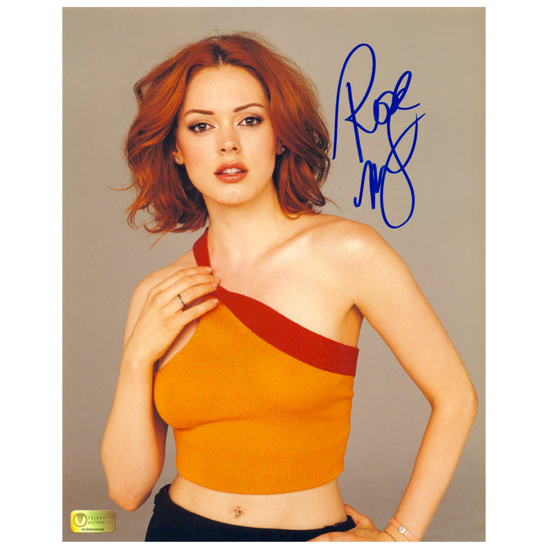 Rose McGowan Autographed Charmed Portrait 8x10 Photo
