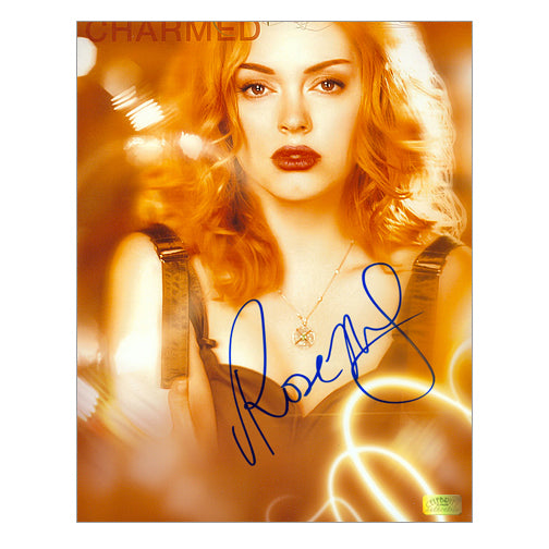 Rose McGowan Autographed Charmed City Lights 8×10 Photo